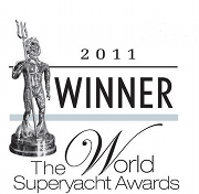 Zefira wins at World Superyacht Awards 2011